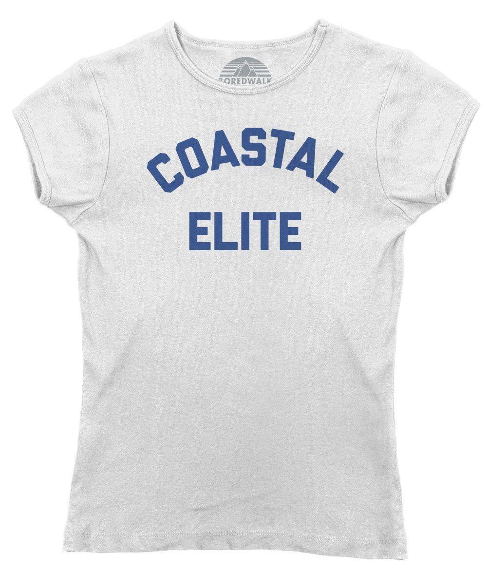 Women's Coastal Elite T-Shirt - Juniors Fit