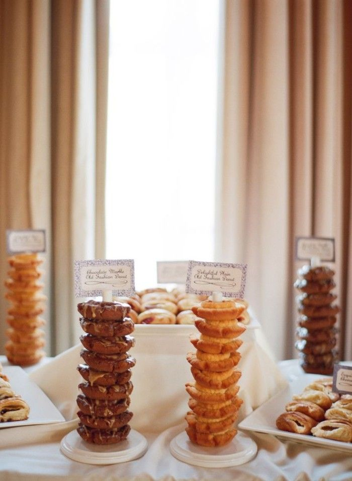 Wedding Philippines - 25 Cool and Fun Donut Bar Buffet ...
