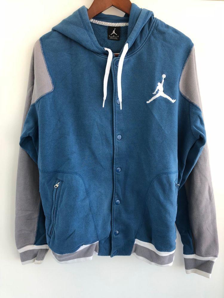 0e3d3949e1c51f Nike Jordan Brand Button up Hoodie Jacket Sweatshirt  fashion  clothing   shoes  accessories  mensclothing  activewear (ebay link)