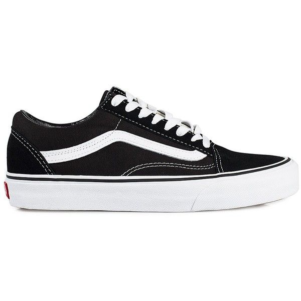 Vans U Old Skool (€77) ❤ liked on Polyvore featuring shoes, sneakers, vans, sapatos, everyday shoes, womens-fashion, leather lace up shoes, round toe shoes, leather shoes and vans trainers