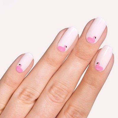 Olive June Nail Art Stickers Cabana Love In 2020 With Images Cute Summer Nail Designs Nail Art Designs Summer Nail Art Stickers