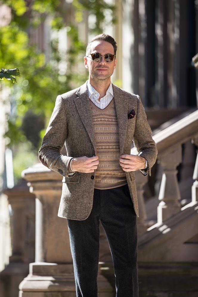 Essential Fall Knitwear for Men: The Fair Isle Sweater   Men's ...
