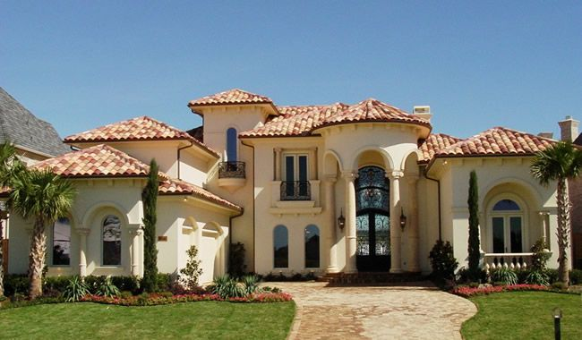 Mediterranean style custom home builder avida custom for Custom mediterranean homes