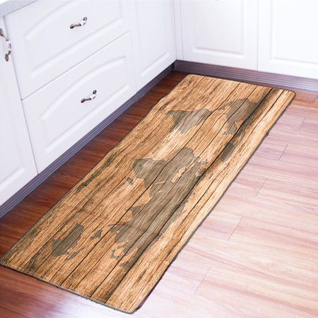 Photo of Modern Floor Mat Non-Slip Kitchen Rug Large Hallway Carpet Long Doormat – Walmart.com