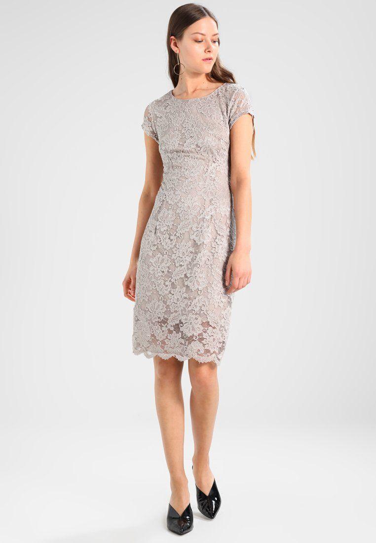 online store bb7ad 01b35 SFCHARLOTTE NEW CAP DRESS - Robe fourreau - dove @ ZALANDO ...