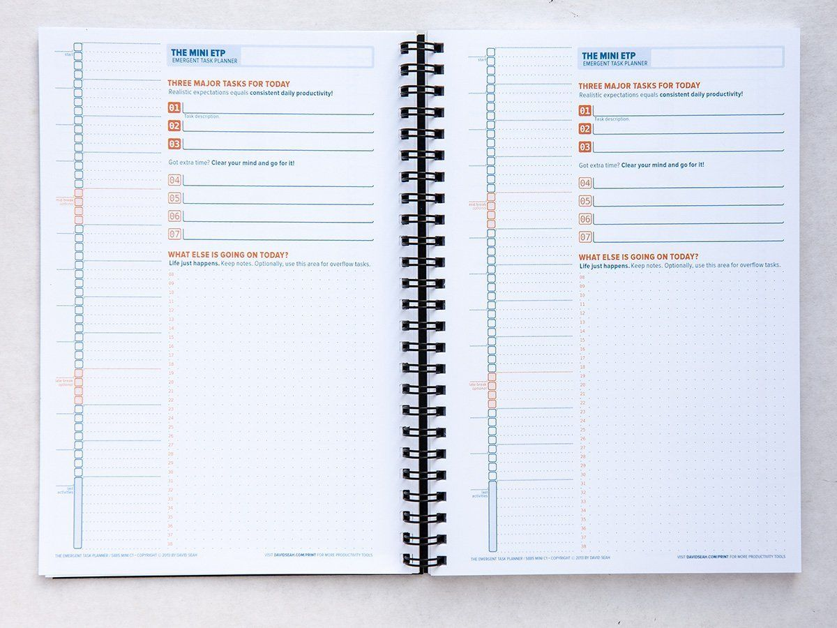 The Emergent Task Planner 3Month Notebook (5