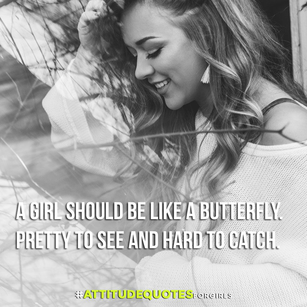 50 Best Attitude Quotes For Girls With Images Quotes Attitude