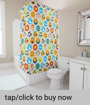 Toy Story Toy Icon Pattern Shower Curtain Zazzle Com