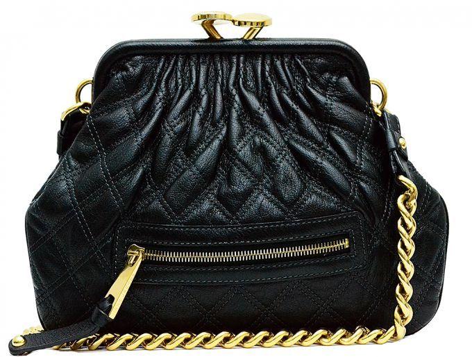 Marc Jacobs Leather Mini Stam Satchel Black Designer Consignmentmarc Jacobssatchels