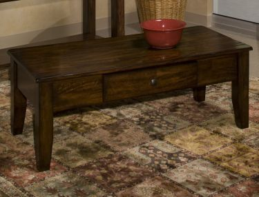 Solid Wood Coffee Table, Intercon, Kona