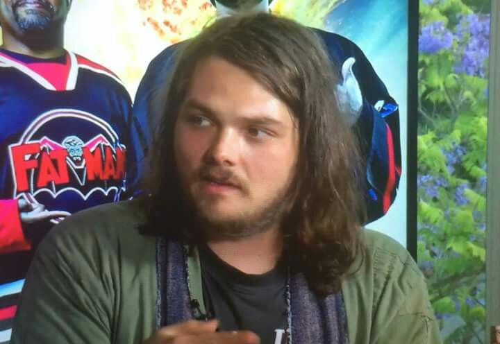 FLUFFY GEE (this is a still taken from this show/interview: https://youtu.be/LULmYaHH4Rc )