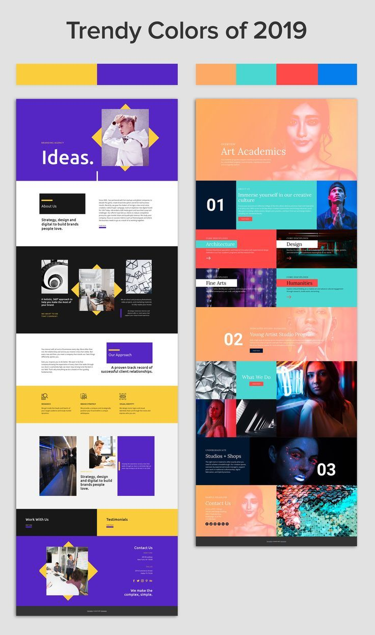 Nicepage Create Themes And Websites In Minutes In 2020 Web Design Color Website Design Web Layout Design
