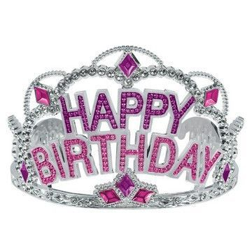 Gem Tiara Happy Birthday | 1 ct