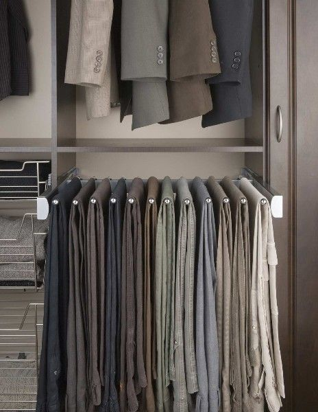 Marvelous Pull Out Pant Rack.