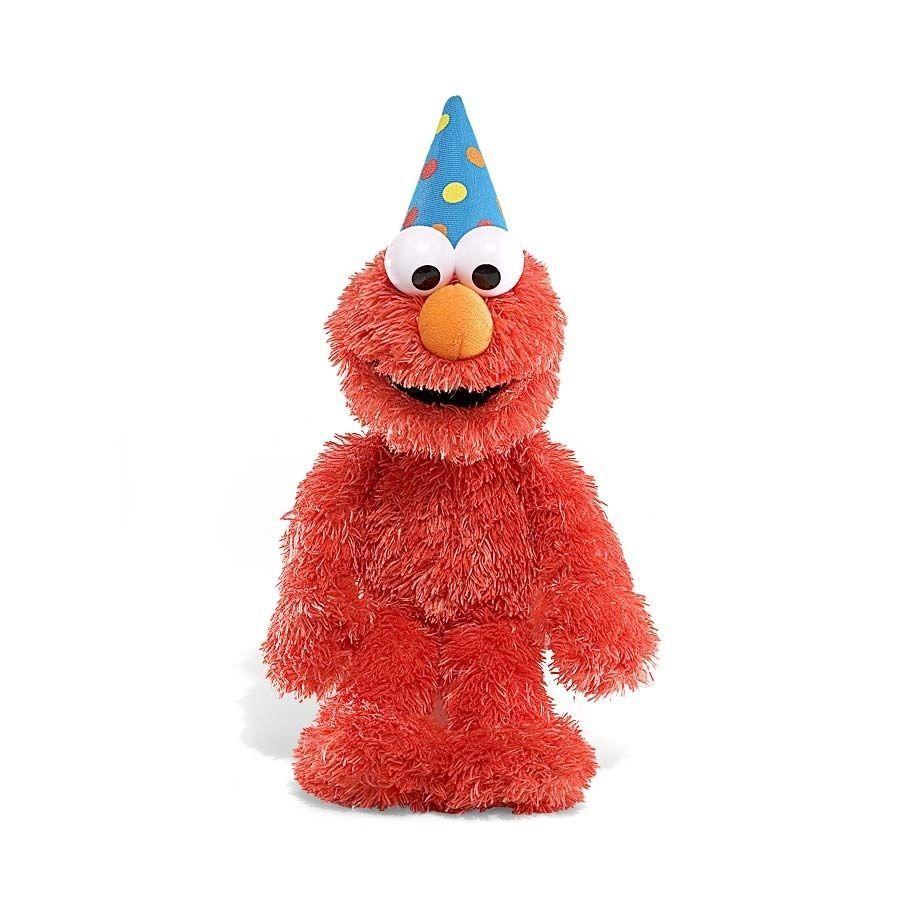 "SESAME STREET HAPPY BIRTHDAY ELMO TALKS GREETING 11"" INCH"