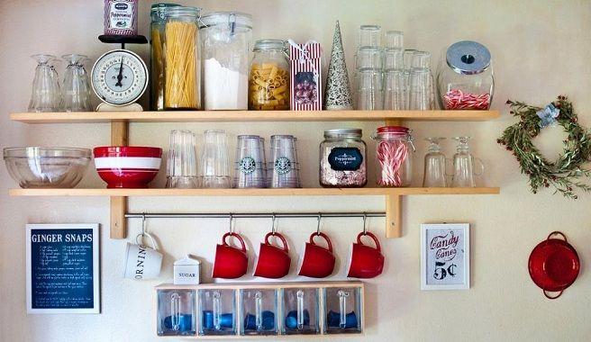 estantería en la cocina - Buscar con Google Cocina Pinterest - estantes para cocina