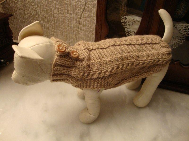 Hunde Pullover-Unisex-Laenge 23 bis 25 cm von Royalfifi - designer ...