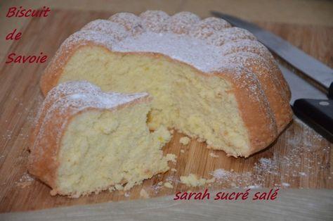 biscuit de savoie moelleux et leger #dessertlegerfacile