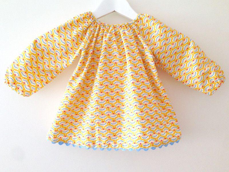 Tunika/Bluse Größe 74/80 von Farb-Raum auf DaWanda.com