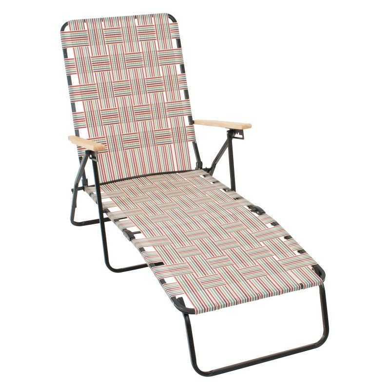 Outdoor Rio Brands Rio Deluxe Folding Web Chaise Lounge Chair Flagstone Multicolor - BY405-55160-1  sc 1 st  Pinterest & Outdoor Rio Brands Rio Deluxe Folding Web Chaise Lounge Chair ...