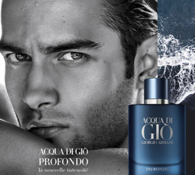 Campione Gratuito Acqua di Giò Profondo di Giorgio Armani offerto da Sephora
