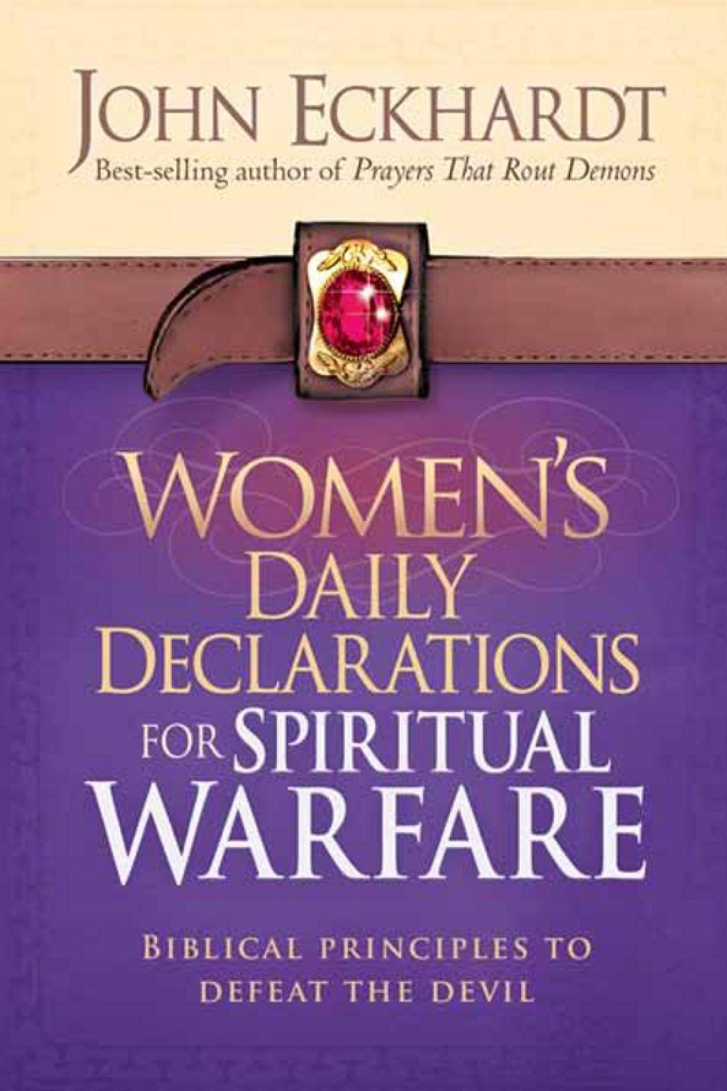 Women S Daily Declarations For Spiritual Warfare Ebook