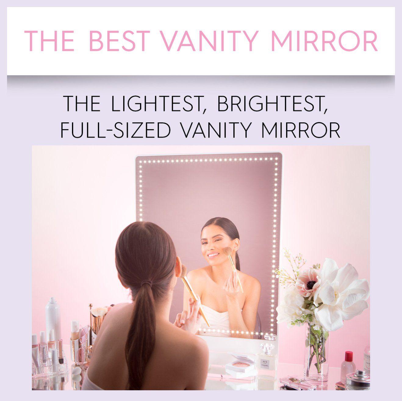 RIKI Tall GLAMCOR Best vanity mirror, Makeup mirror