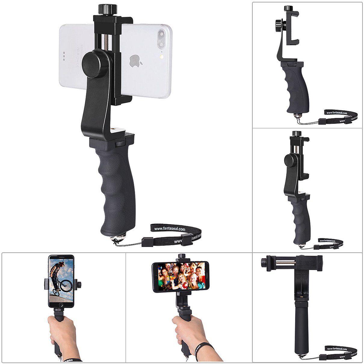 Fantaseal iphone cell phone hand grip holder smartphone