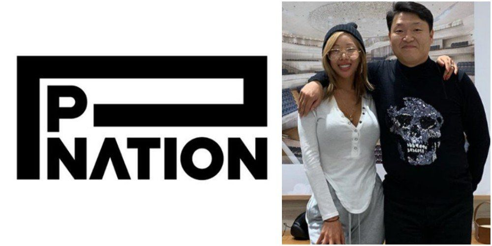 Psy Officially Announces The Establishment Of His Company P Nation National Company Kpop Logos