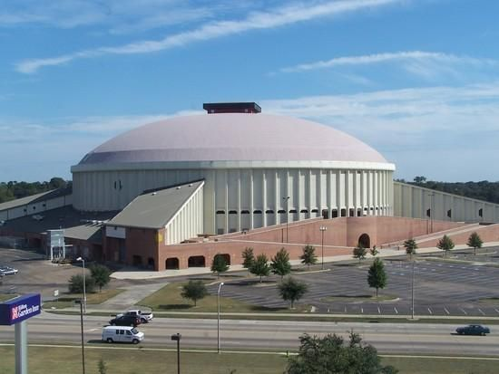The Cajundome Is Home Of The Ragin' Cajuns Basketball Team