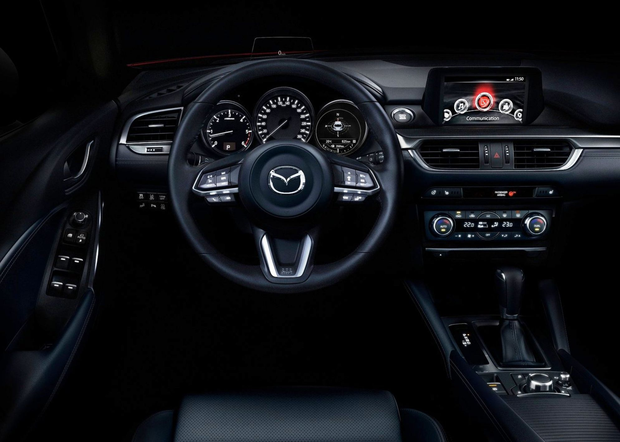 2017 Mazda 6 Dashboard Wallpaper Xe hơi