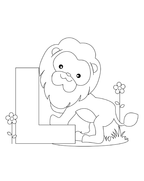 9300 Alphabet L Coloring Pages For Free