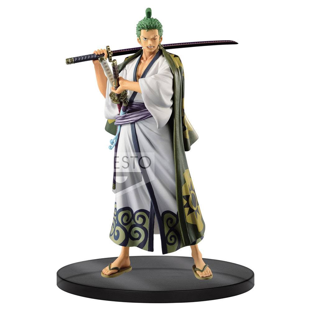 Banpresto ONE PIECE DXF THE GRANDLINE MEN vol.4 Figure Figurine 17cm Crocodile