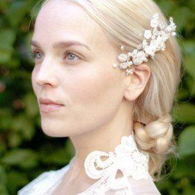 15710877-GL2jW   Wed Head   Flower headpiece, Bridal ...