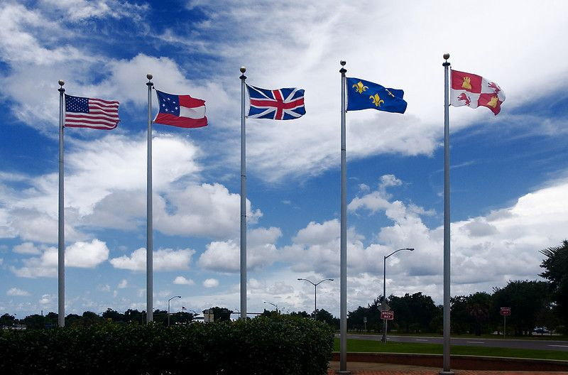 Pensacola Florida Is Called The City Of Five Flags Because Our History We Are Oldest Settlement In Fl