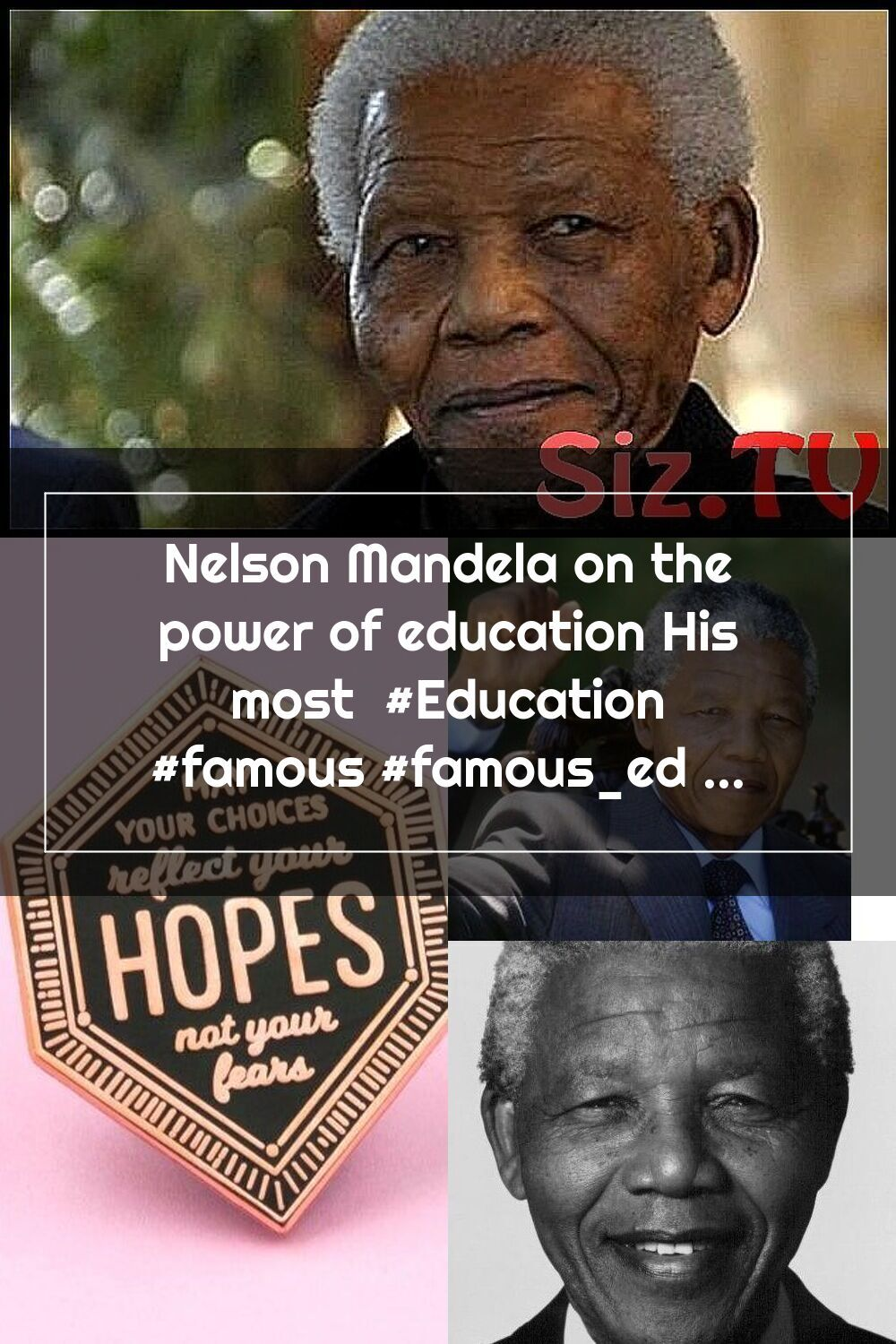 Nelson Mandela On The Power Of Education His Most Education Famous Famo Nelson Mandela Mandela Education