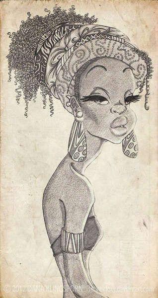 African Art, Girl..! ~