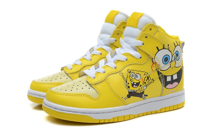 the latest 3eaf5 5f4d9 Nike Dunk x SpongeBob