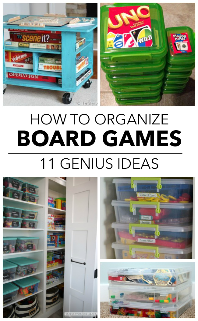 11 Ways To Finally Get Your Board Games Organized Półki