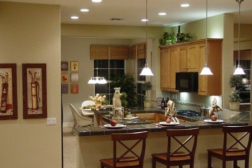 kitchen paint colors with oak cabinets - kitchen color schemes