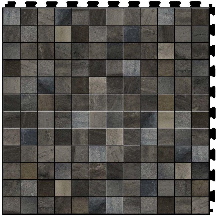 Perfection floor tile stone creek 6 piece 20 in x 20 in stonehenge perfection floor tile stone creek 6 piece 20 in x 20 in stonehenge mosaic locking mosaic luxury vinyl tile commercialre doublecrazyfo Gallery