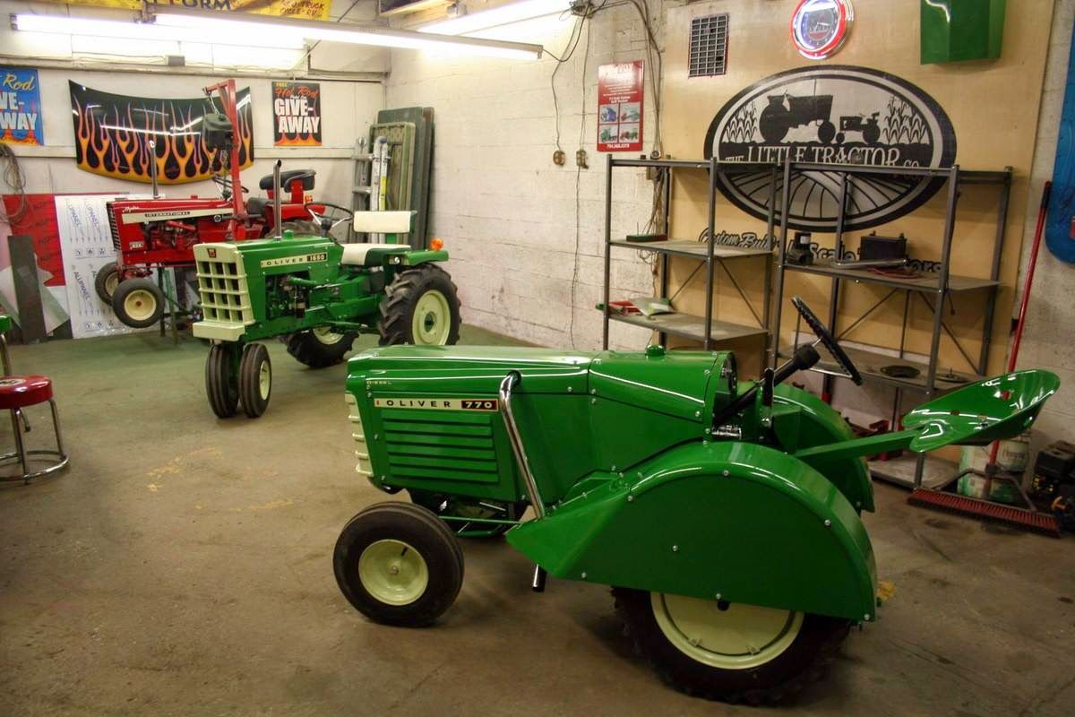It's kind of funny, people think I have a high tech machine shop when they see the tractors I build... I thought I'd share some pictures of ...