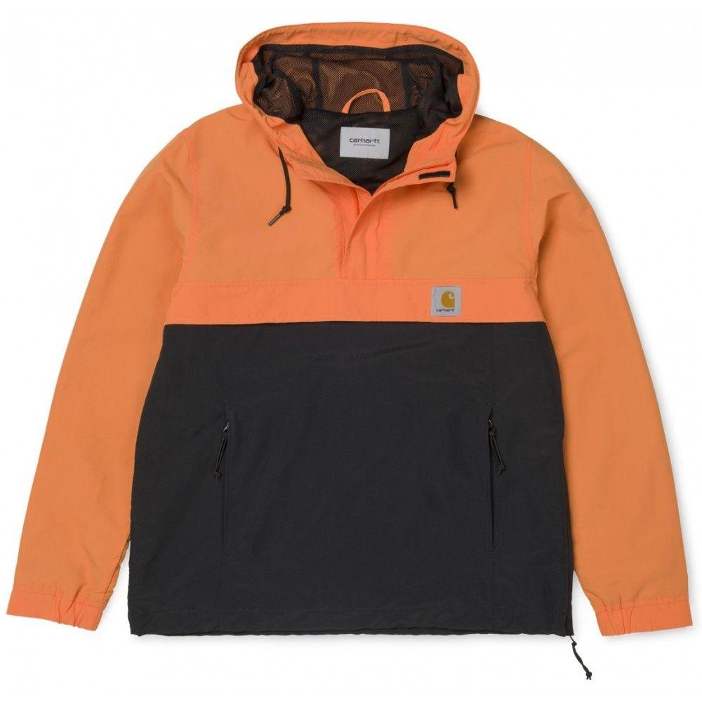 magasin en ligne 8d675 13a77 Veste Carhartt Wip Nimbus Two Tone Pullover Jaffa Black ...