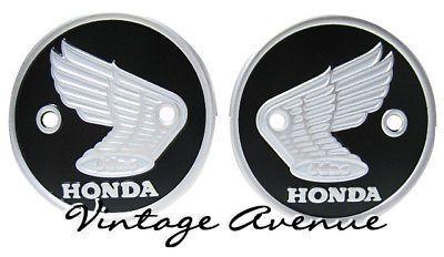 Honda Cs90 S90 Cl90 C200 Ca200 C201 Tank Emblem Bs Honda Emblems Tank