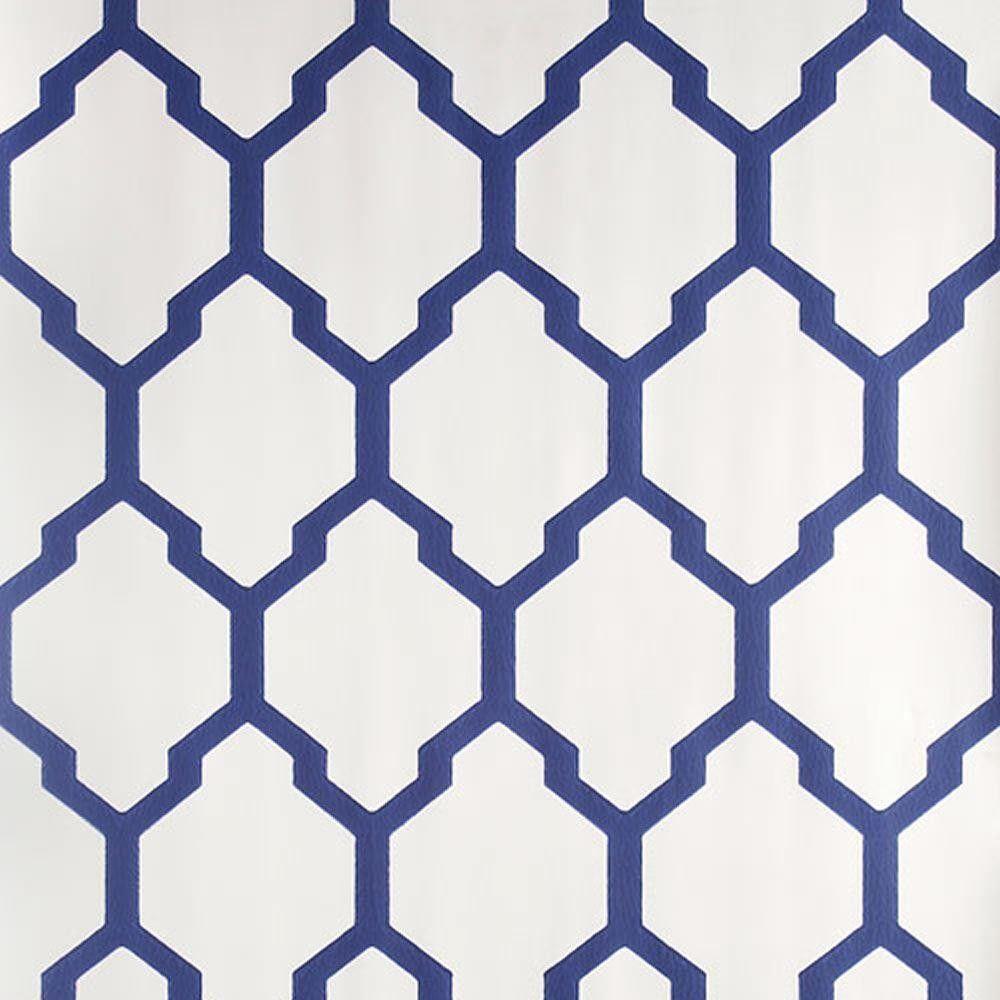 Found On Bing From Www Decorsupplies Co Uk Blue And White Wallpaper Blue Geometric Wallpaper Geometric Wallpaper