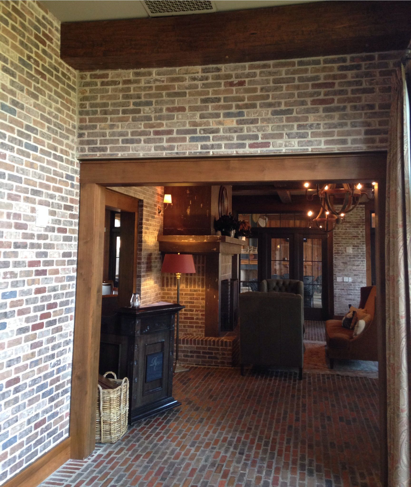 Pepper Mill Thin Brick Ivory Mortar Walls Floors Thin Brick Pinterest Thin Brick Bricks