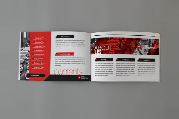 Swiss Brochure Design Ideas   Beautiful Modern Brochure Design