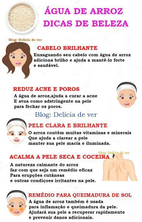 Beneficios E Usos De Beleza Da Agua De Arroz Dicas De Beleza