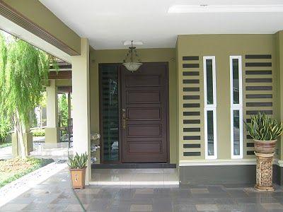 Great The Front Door Design. Classy And Elegant.