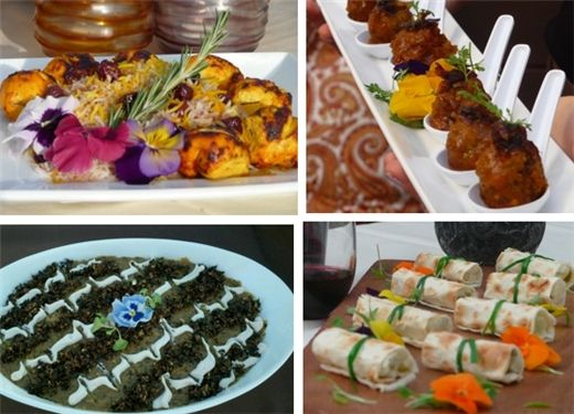 Toast Catering Persian Food Appetizers